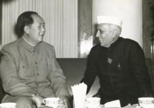 Мао и Неру (1954)
