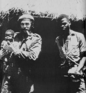 Че Гевара и Кабила в Конго
