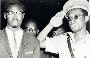 Лумумба и Мобуту в 1960 году