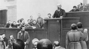 Выступление Ленина 4 апреля 1917 г. в Таврическом дворце