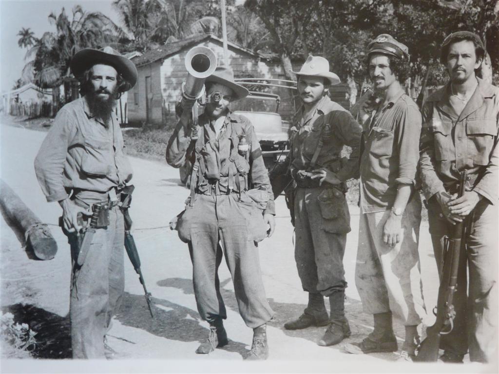 Прибытие команданте Камило Сьенфуэгоса на территорию Вилья-Клары (1958)