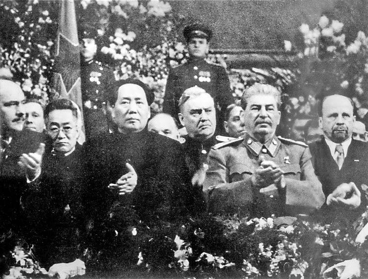 Сталин и Мао, 21 декабря 1949 г.