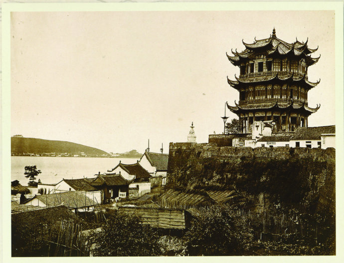 Башня жёлтого журавля в 1870 году