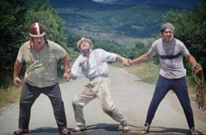Трус, Балбес и Бывалый на дороге