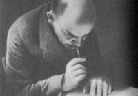 В. И. Ленин на ступеньках трибуны во время заседания Ⅲ конгресса Коминтерна в бывш. Андреевском зале Кремля. 28 июня или 1 или 5 июля 1921 г. Москва.