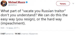 Moore on Trump