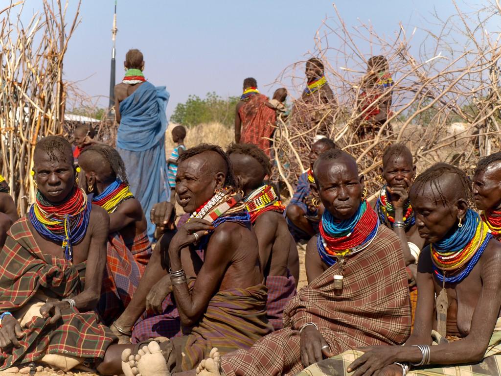 Турканки в округе Туркана, одном из наиболее поражённых засухой 2011 г. регионов Кении.