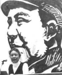 Симона де Бовуар (фото Десдемоны Бардин)
