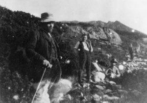 В. И. Ленин, С. Ю. Багоцкий и Г. Е. Зиновьев на прогулке в окрестностях польского местечка Закопане (1913 г.)