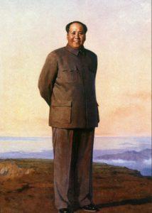 Рис. 7. Цзинь Шанъи. «Председатель Мао на горе Лушань»
