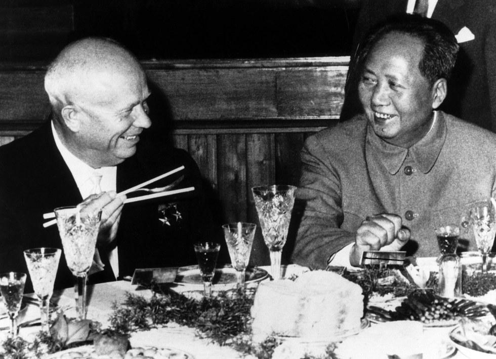 Никита Хрущёв и Мао Цзэдун (1959)