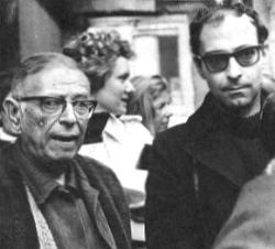 Жань-Поль Сартр и Жан-Люк Годар