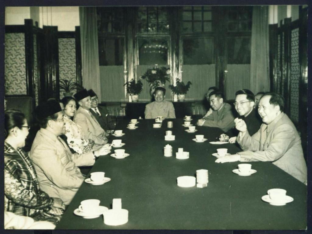 Беседа Мао Цзэдуна с премьер-министром Индонезии Раденом Али Састромиджойо